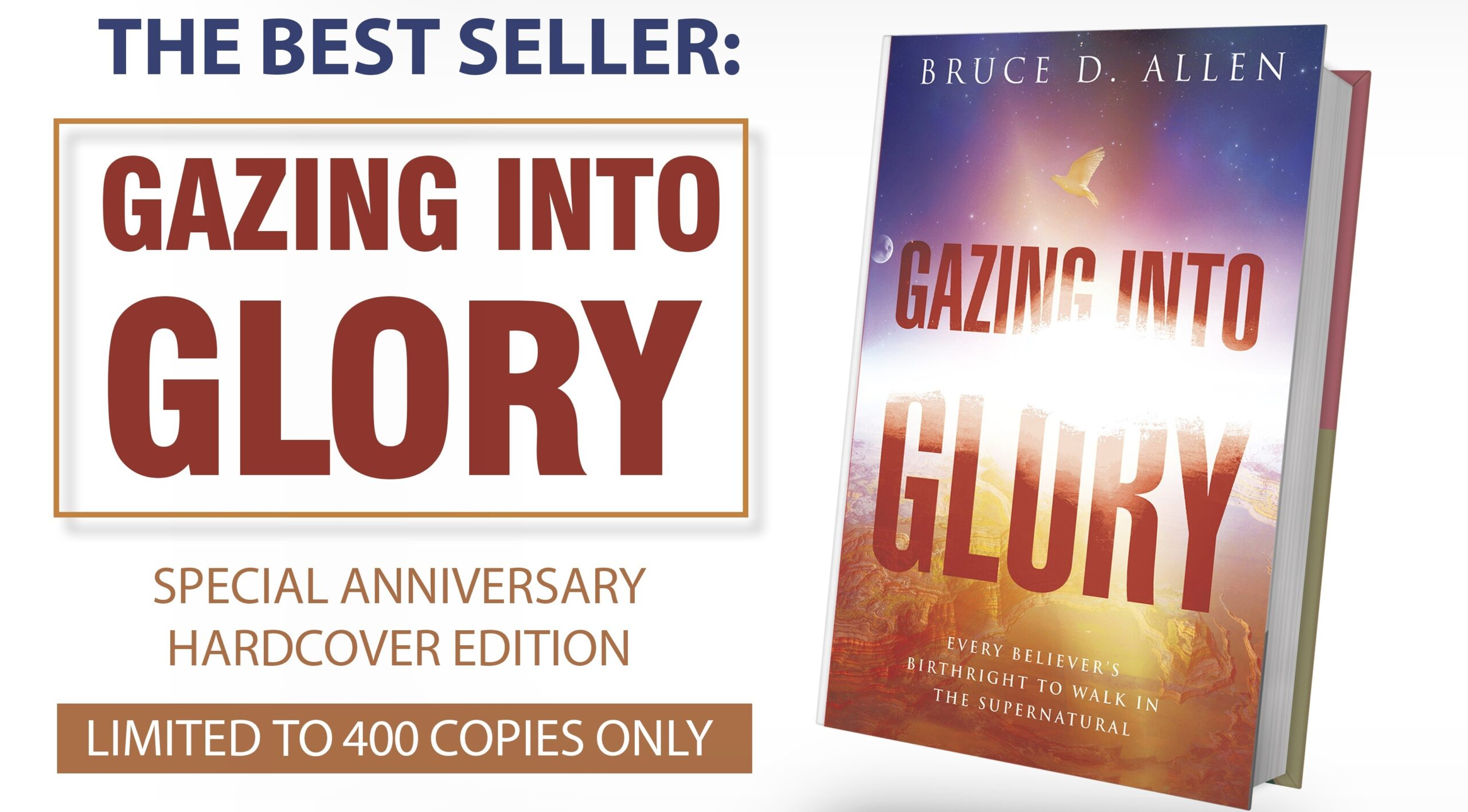 Gazing into Glory Hardcover , Suggested Donation