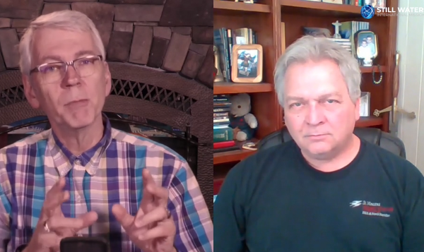 Episode 10: Fireside chats with Michael Van Vlymen and Dr. Bruce Allen